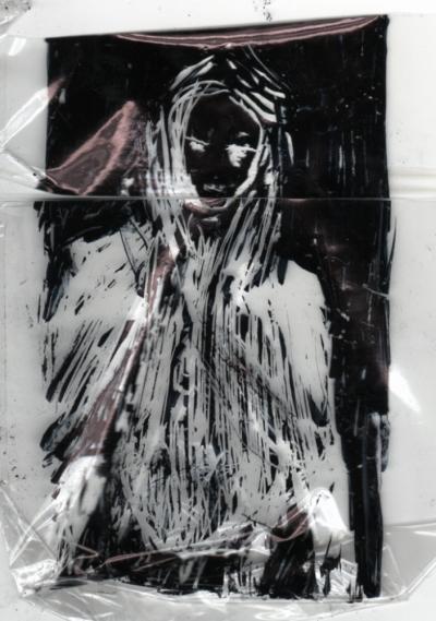 Cigarette Girl IV - Brenda by Agam (A) Andreas