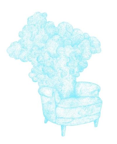 Cloudy Armchair by Bjorn Hegardt